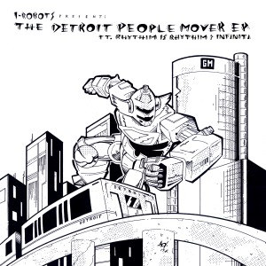 OPCM 12 069 The Detroit People Mover E.P. ft. Rhythim Is Rhythim & Infiniti