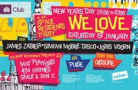 We Love Ministry of Sound New Years day
