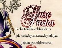 Pacha London Celebrate their 9th Birthday.