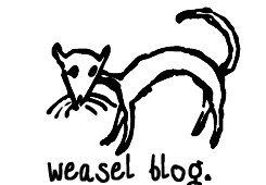Weasel Blog:  News, Competitions, Podcasts, Interviews + Picks of this weekends events…