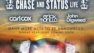SW4 Saturday Headline DJ's announced.