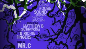 "Bushwacka! Launches new vinyl based night: ""The Roots"" feat Mr C w/ sounds circa '87-'90"