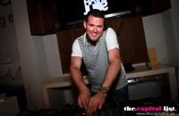 Tom Chubb DJ-ing Abu Dhabi