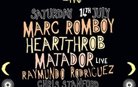 Jaded host part 2 of their Sat night warehouse series w/ Marc Romboy, Heartthrob, Matador + more..