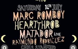 Jaded host part 2 of their Sat night warehouse series w/ Marc Romboy, Heartthrob, Matador + more..
