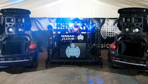 Nissan Juke Box Takes To The Road With Ministry Of Sound As Summer Sessions Tour Is Announced