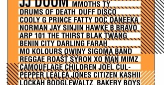 Eastender Festival: Doom Live / Drums of Death / Greg Wilson / Norman Jay / Mad Professor / Cooly G Live and many more lined up for this weekend.