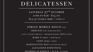 Simian Mobile Disco & Wang Present – Delicatessens. Win Tickets!