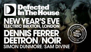 Defected take over Electric Brixton for NYE.