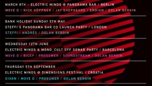 Electric Minds And Broken&Uneven Launch Tour Dates for 2013