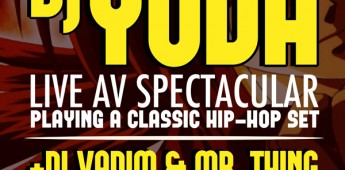 Soundcrash presents DJ Yoda live AV spectacular
