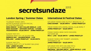 Secretsundaze Announce Season Launch With 2-part Opening Party!