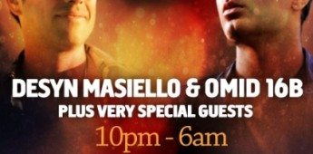 aLOLa Presents: Desyn Masiello & Omid 16B – Win Tickets!
