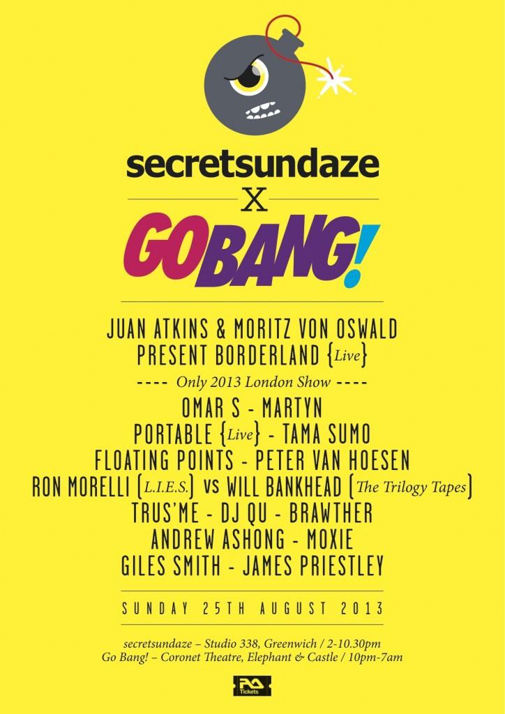 secretsundaze x GO BANG