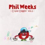 PhilWeeks-CrateDiggin-Vol1-AlbumArt
