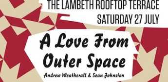 WIN TICKETS!! Slide On The Terrace With 'A Love From Outer Space'