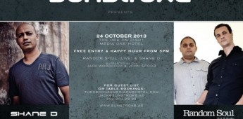Random Soul & Shane D play at Media One on 24th October