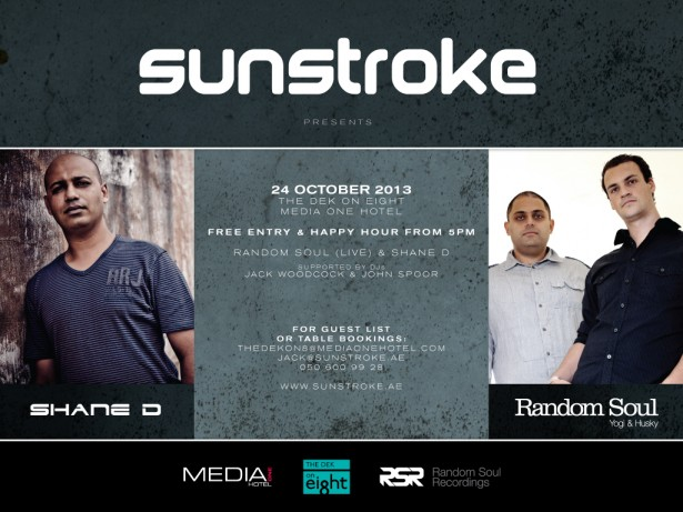 Sunstroke presents RANDOM SOUL & SHANE D
