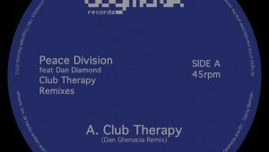 Peace Division feat Dan Diamond 'Club Therapy Remixes'