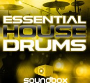 Essential House Drums from Soundbox
