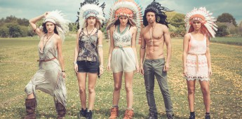 We are FSTVL - Promo Shoot - Headdresses - 1