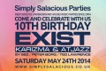 Simply Salacious 10th Birthday