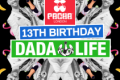 13th Birthday with Dada