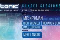 audio tonic Sunset Sessions with MIC NEWMAN (Freerange Records)