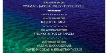 Sonus Festival announces Boat Parties: Karotte, Valentino Kanzyani, Shonky, Dan Ghenacia, Margaret Dygas, Cormac, Meat, Peter Pixzel and more set sail