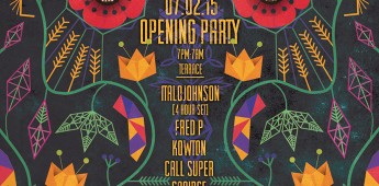 Studio 338 2015 Opening Party with ItaloJohnson, Fred P, Kowton, Call Super & Cartulis Day