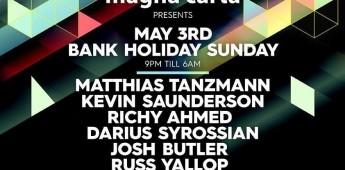 Magna Carta presents The Big Ibiza Send Off 2015- Bank Holiday Sunday