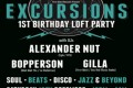 Excursions 1st Birthday Loft Party