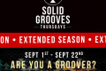 SolidGrooves Announce Their Extended Season and Closing Party at Vista Club