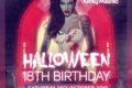Kinky Malinki Halloween 18th Birthday