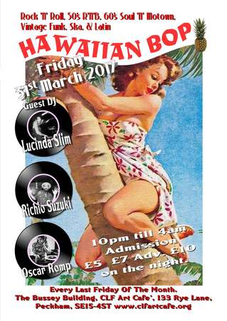 Hawaiian Bop with Lucinda Slim, Richio Suzuki & Oscar Romp
