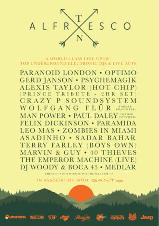 Alfresco Festival 2017