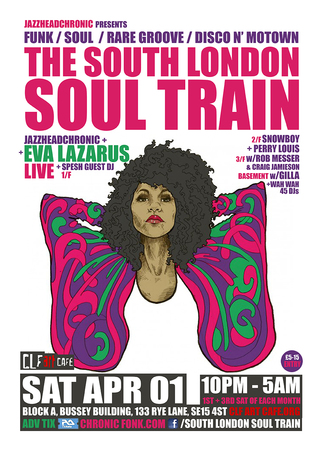 The South London Soul Train with JHC, Eva Lazarus Live + More