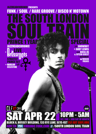 The South London Soul Train Prince 1 Year Anniversary Special + More