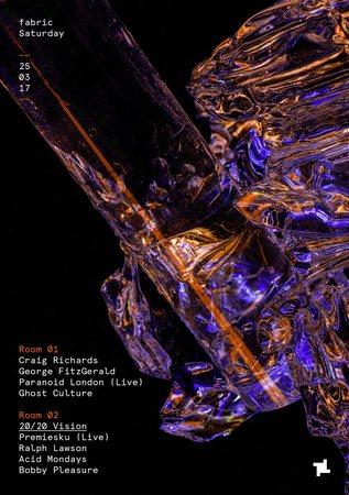 fabric: George Fitzgerald, Paranoid London (Live) & Premiesku (Live)