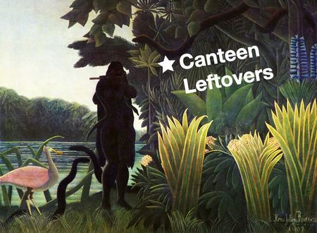 Canteen Leftovers at Grow in Hackney Wick - with music, art and food!