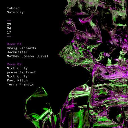 fabric: Mathew Jonson (Live), Jackmaster & Nick Curly