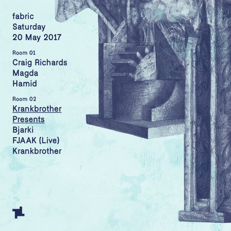 fabric: Magda & Krankbrother presents with Bjarki & FJAAK