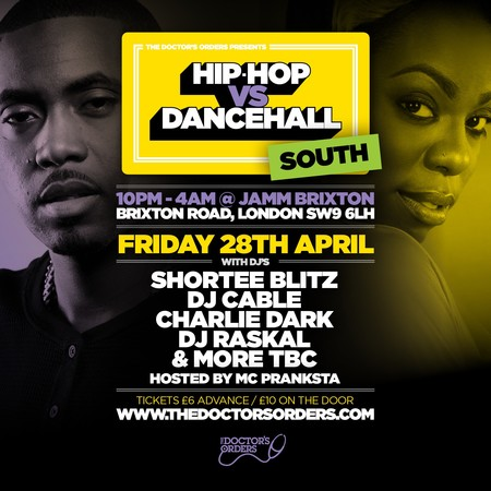 Hip-Hop vs Dancehall - South - Brixton Jamm