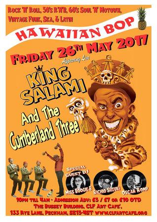 Hawaiian Bop with Richio Suzuki, King Salami and The Cumberland 3 & More!