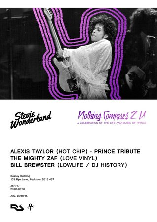 Stevie Wonderland: A Tribute to Prince with Alexis Taylor (Hot Chip)