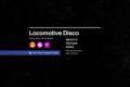 Locomotive Disco | Severino + Harrison
