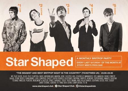 Star Shaped Club Brighton: April Party!