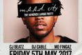 m.A.A.d. City - The Kendrick Lamar Party - Trapeze Basement