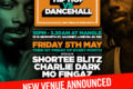 Hip-Hop vs Dancehall - NEW BIGGER VENUE - Mangle, E8 - Friday 5th May 2017
