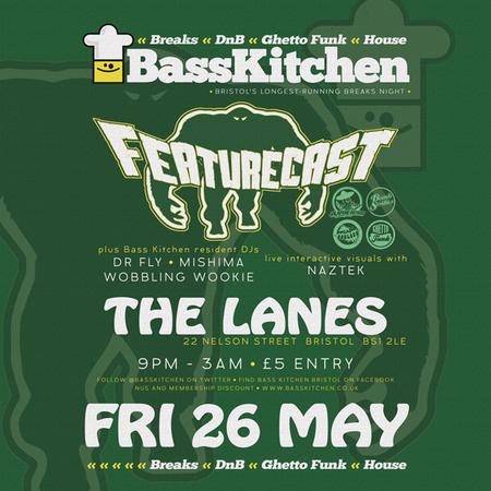Bass Kitchen presents Featurecast